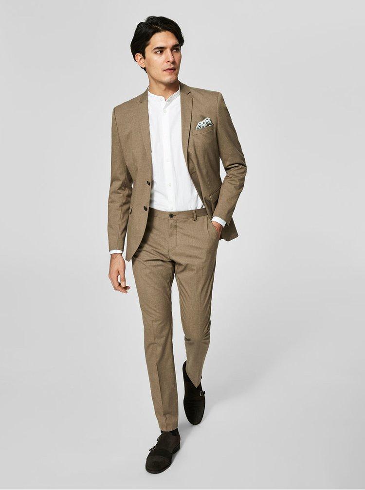 Pantaloni maro de costum - Selected Homme New one