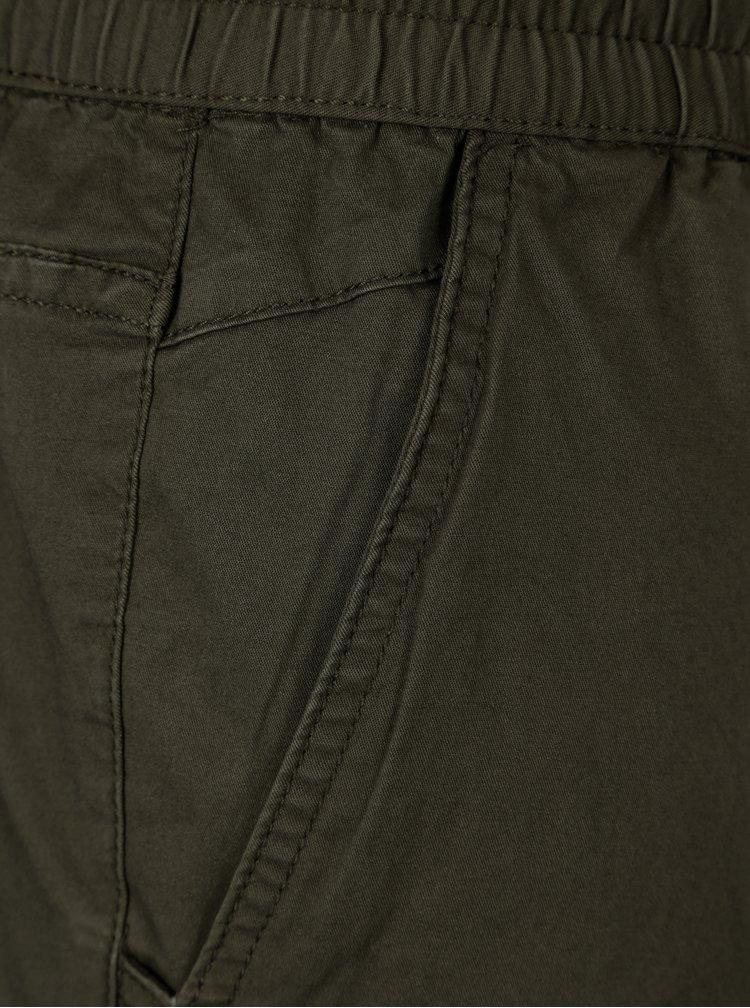 Khaki kalhoty Jack & Jones Vega