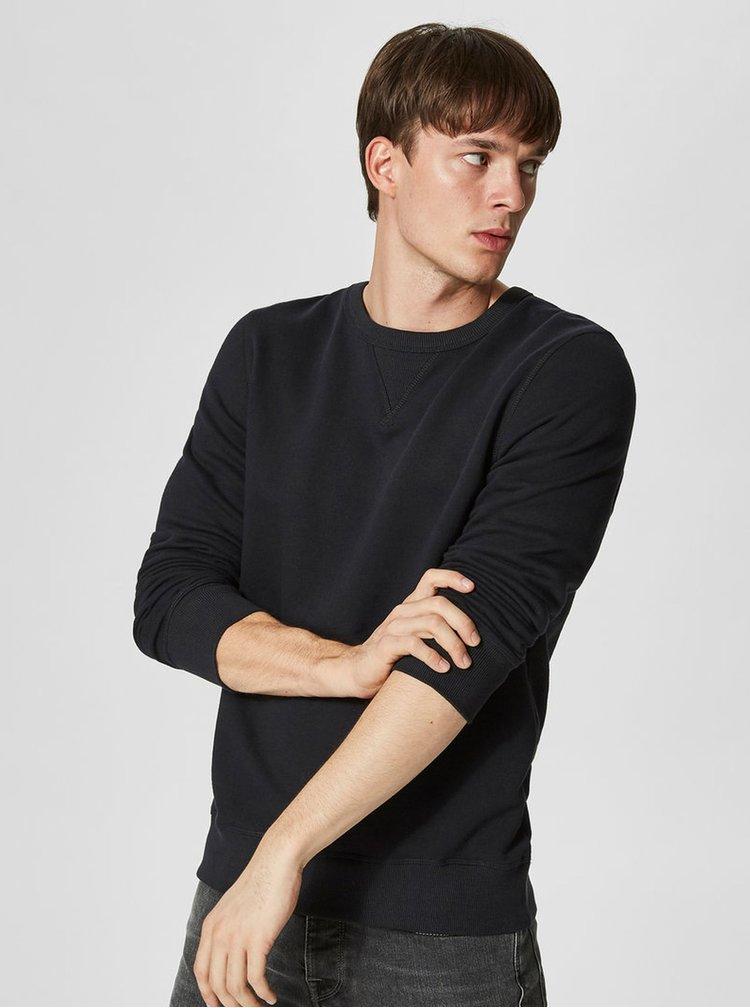 Bluza neagra barbateasca  Selected Homme Simon