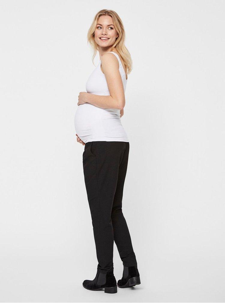 Bílé těhotenské basic tílko Mama.licious New Heal