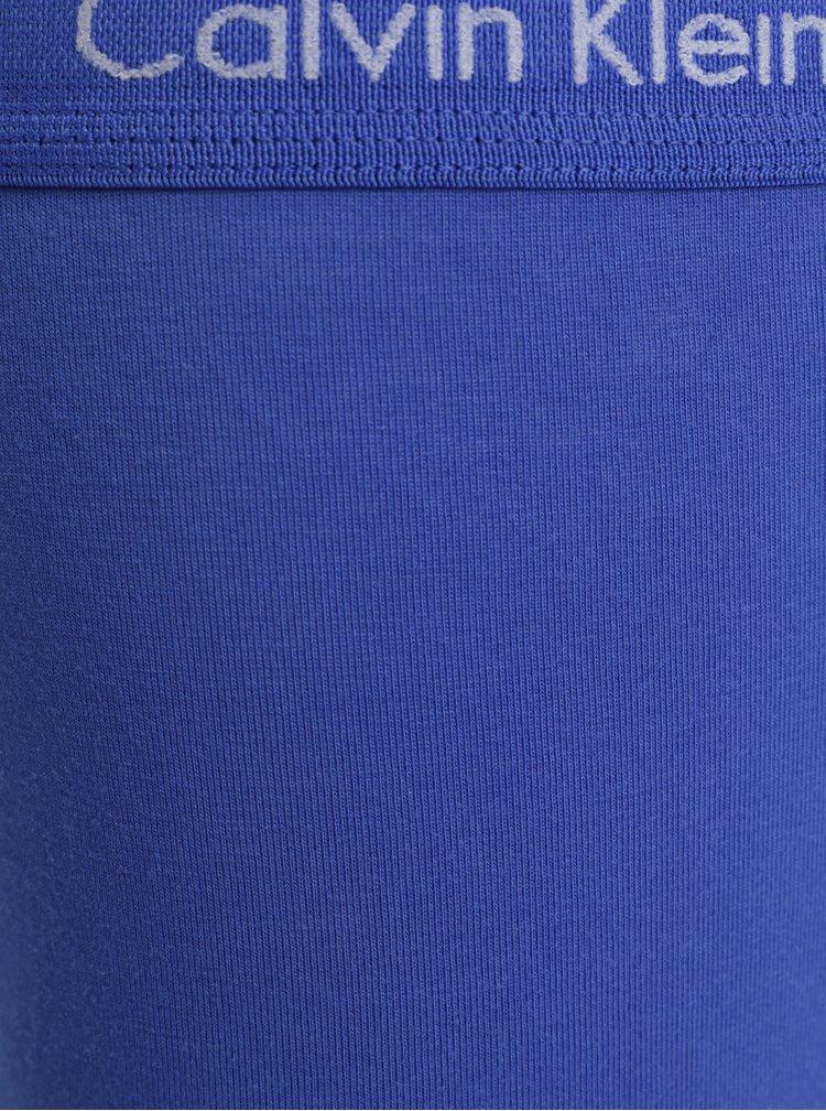 Set de 3 boxeri albastru si negru Calvin Klein Underwear