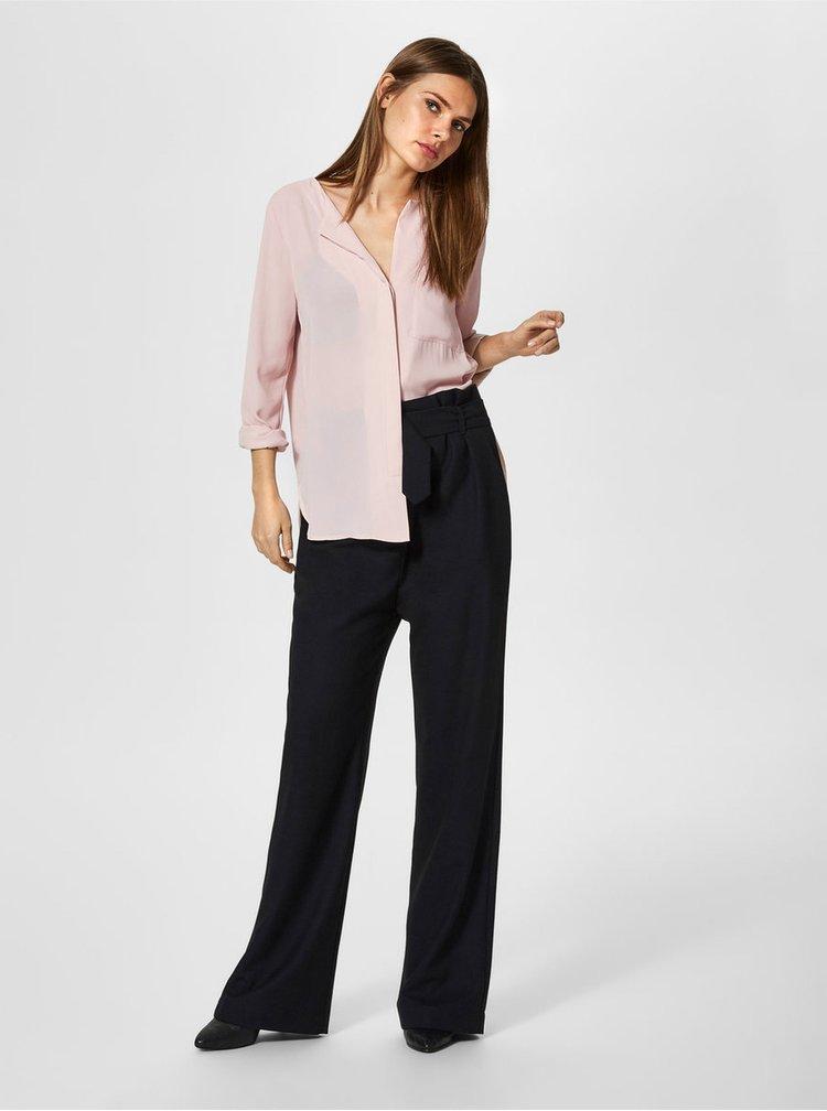 Camasa roz cu nasturi Selected Femme Dynella