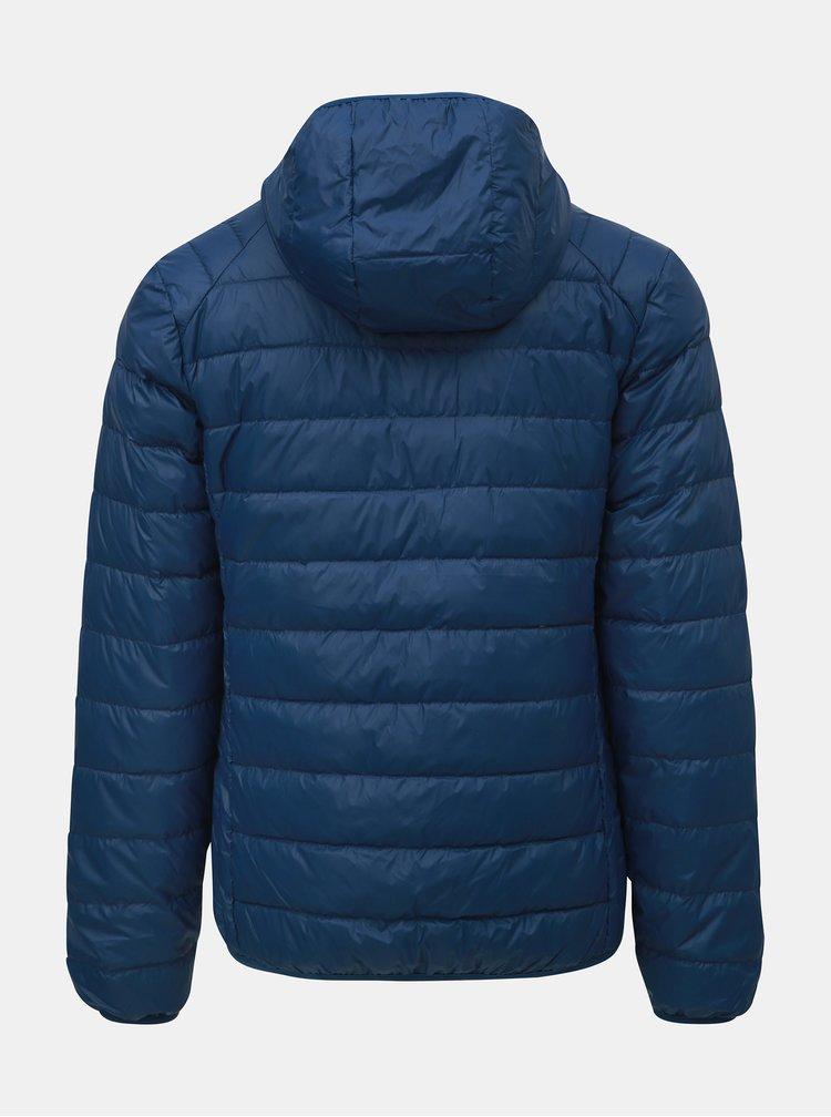 Modrá pánska páperová nepremokavá tenká bunda LOAP Ipos