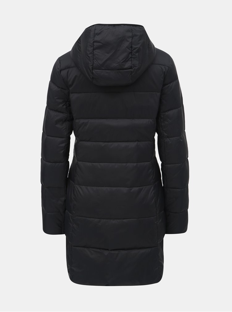 Černý dámský péřový voděodpudivý kabát LOAP Iprana