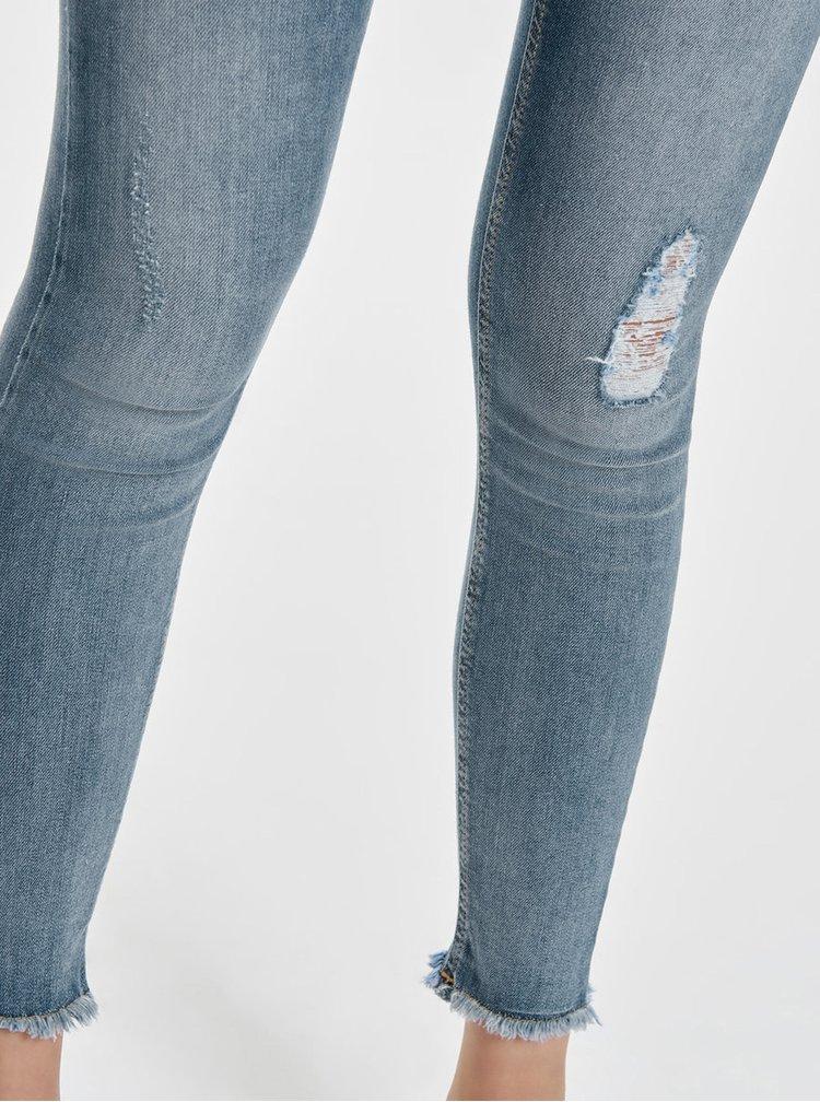Světle modré skinny fit džíny ONLY Blush