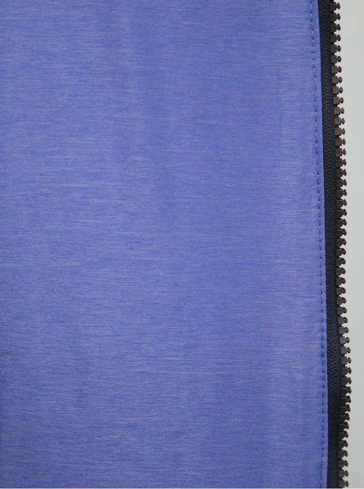 Fialovo-šedá dámská oboustranná voděodpudivá bunda s kapucí LOAP Irisa