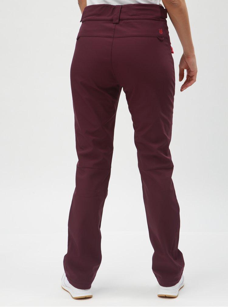 Fialové dámské softshellové kalhoty LOAP Lucien