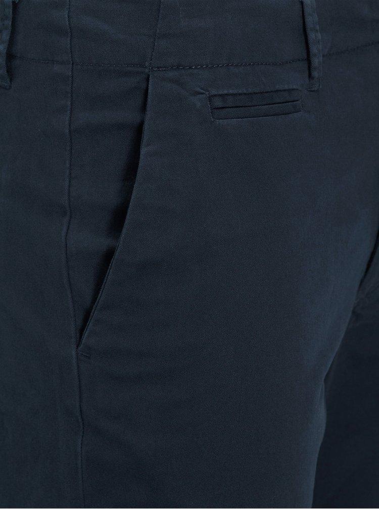 Tmavomodré chino nohavice Jack & Jones Marco