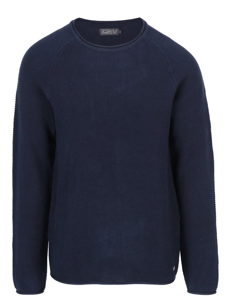 Tmavě modrý svetr Jack & Jones Phil