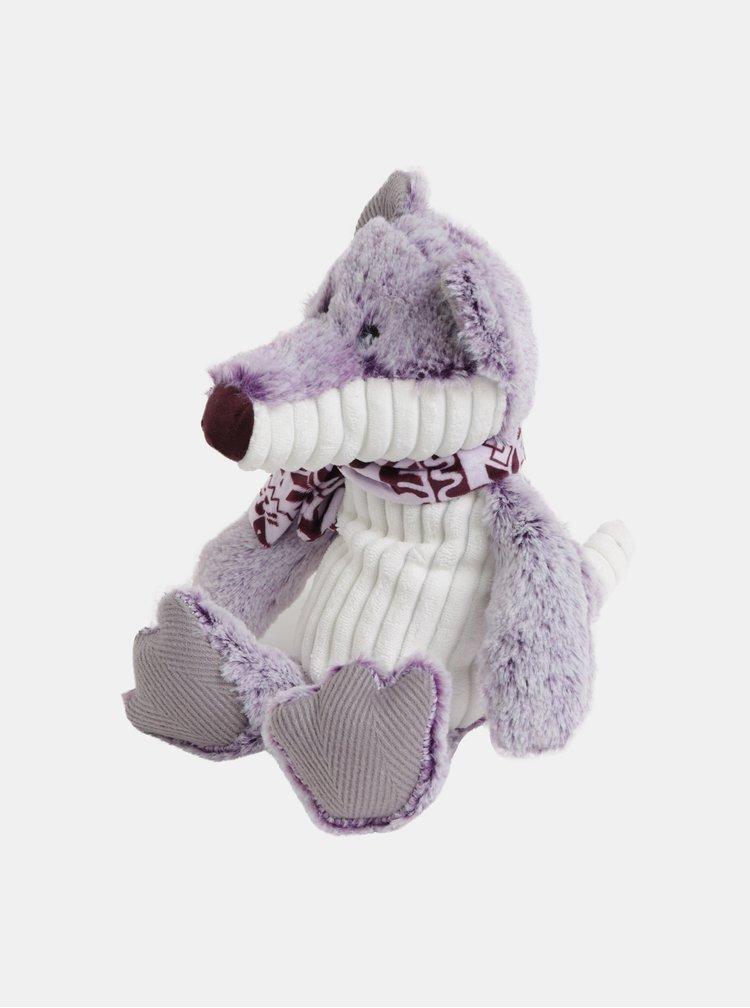 Světle fialový plyšový nahřívací vlk s vůní levandule Something Special