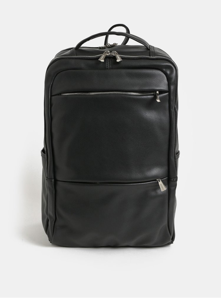 Rucsac negru pentru laptop Bobby Black