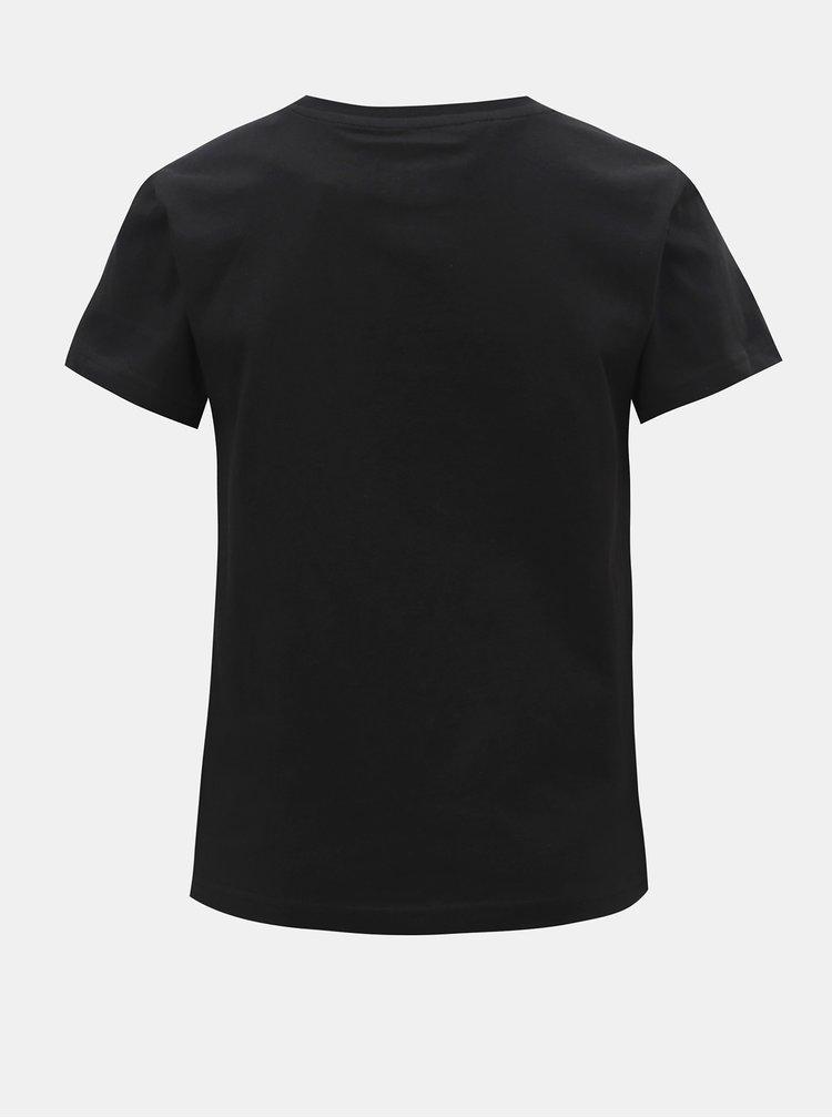 Černé klučičí tričko s potiskem adidas Originals