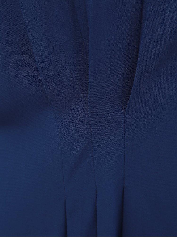Tmavě modrá halenka s řasením v pase VERO MODA Jaylo