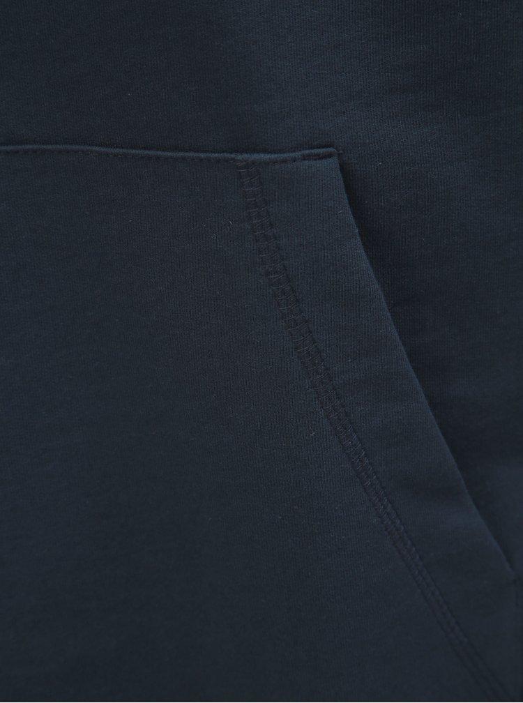 Tmavě modrá mikina s kapucí ONLY & SONS Basic