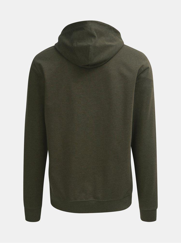 Khaki mikina s kapucí ONLY & SONS Basic