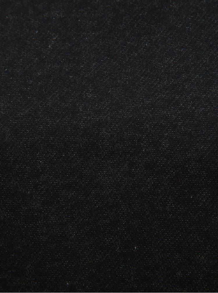 Černá třpytivá mikina ONLY