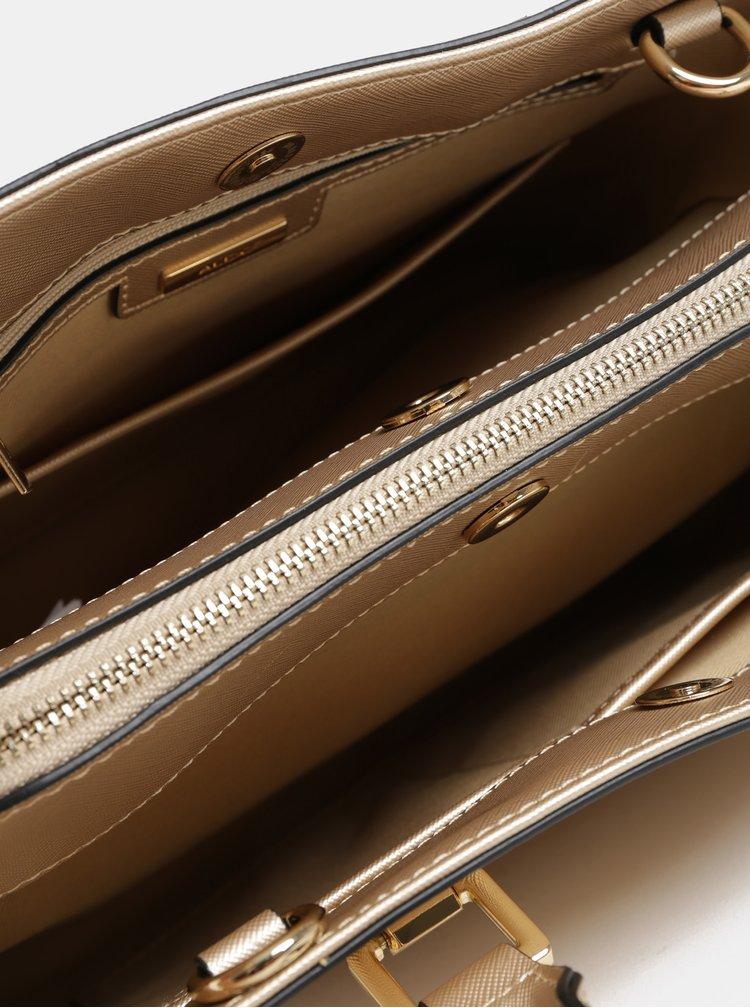 Kabelka v zlatej farbe s odnímateľným popruhom ALDO Legoiri