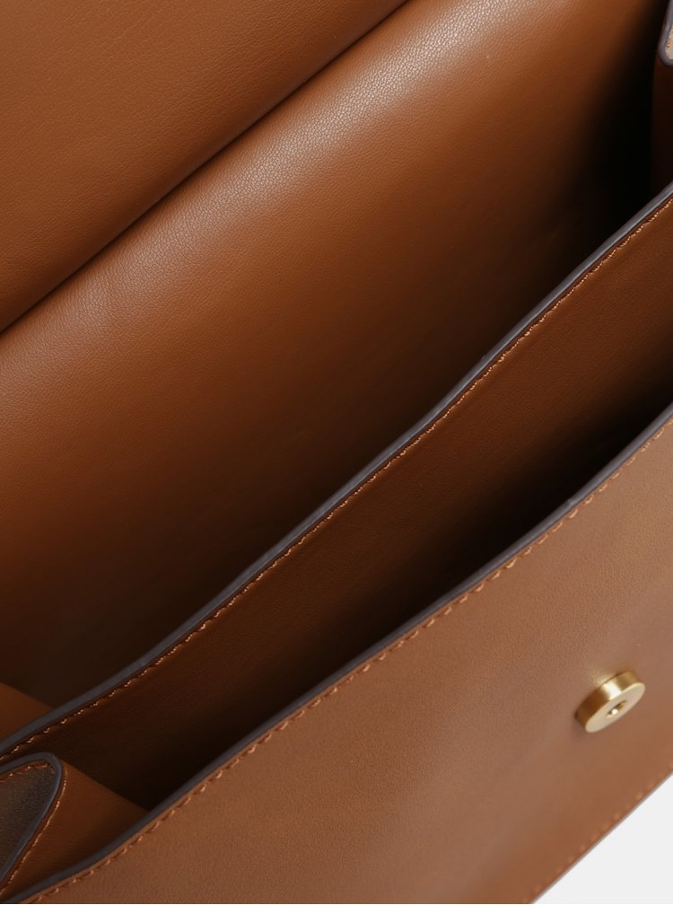Hnedá crossbody kabelka ALDO Trayria