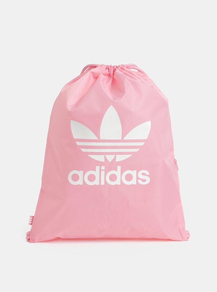 Ružový dámsky vak s potlačou adidas Originals