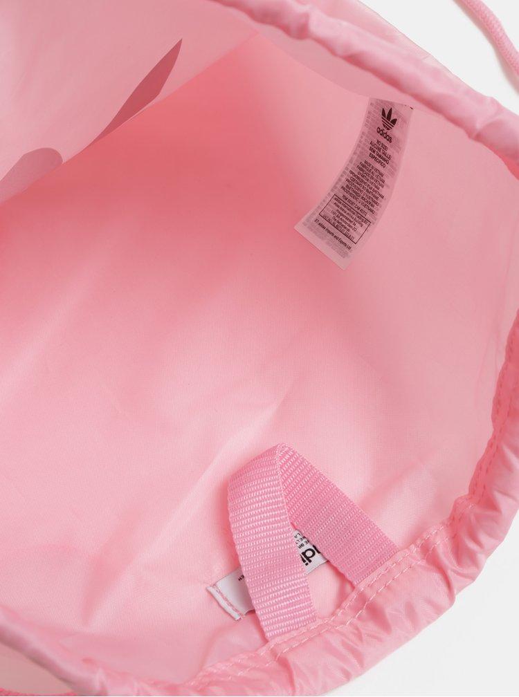 Sac roz de dama cu imprimeu adidas Originals