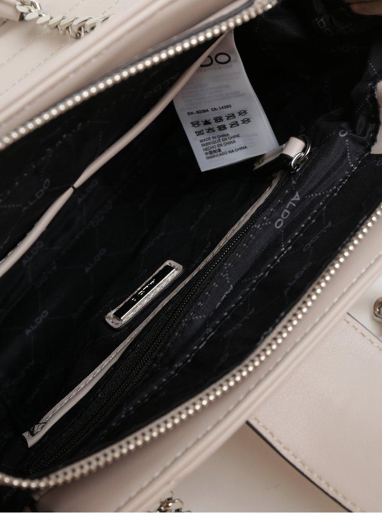 Béžová prošívaná kabelka ALDO Maewiel