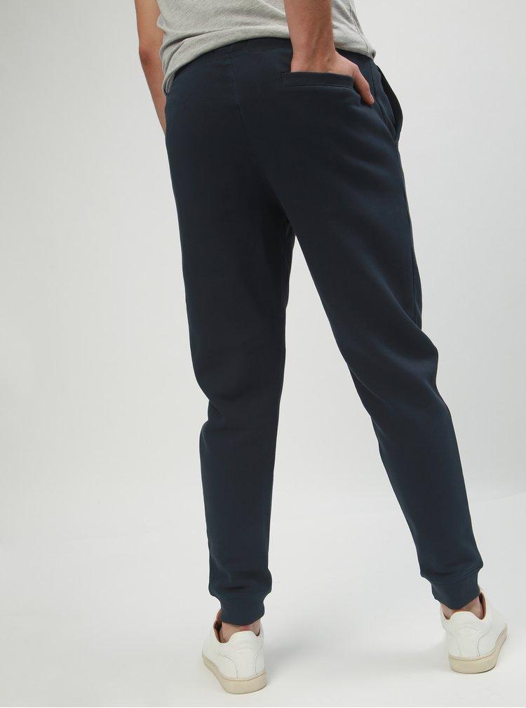 Pantaloni sport albastru inchis slim fit Original Penguin