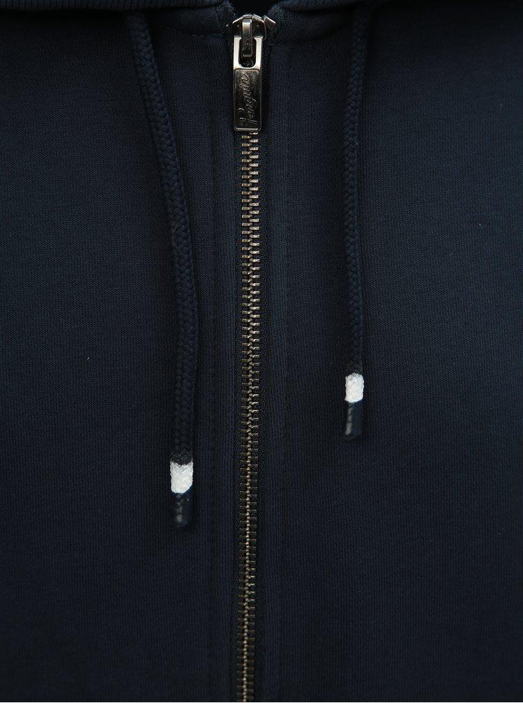 Hanorac albastru inchis cu fermoar Original Penguin