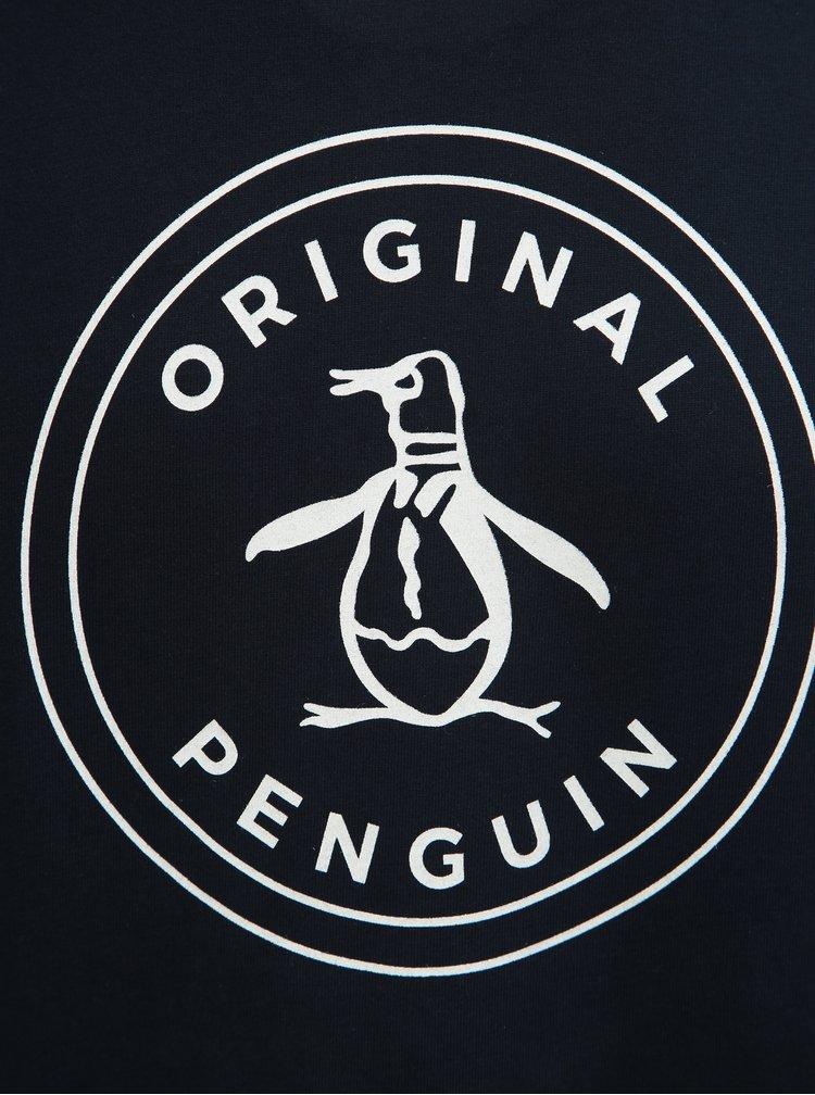 Tmavě modré tričko s potiskem Original Penguin