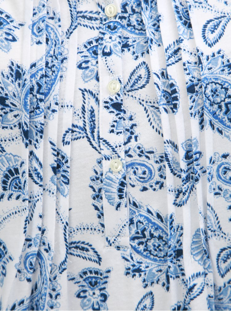 Camasa de nopate albastru-alb florala Ralph Lauren