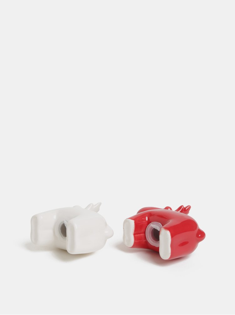 Solnita si pipernita alb-rosu in forma de ren SIFCON