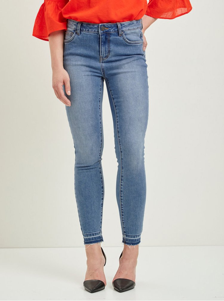 Modré slim džíny VILA Commit