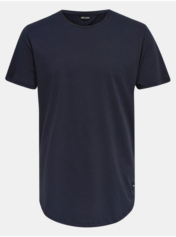 Tricou bleumarin ONLY & SONS Matt