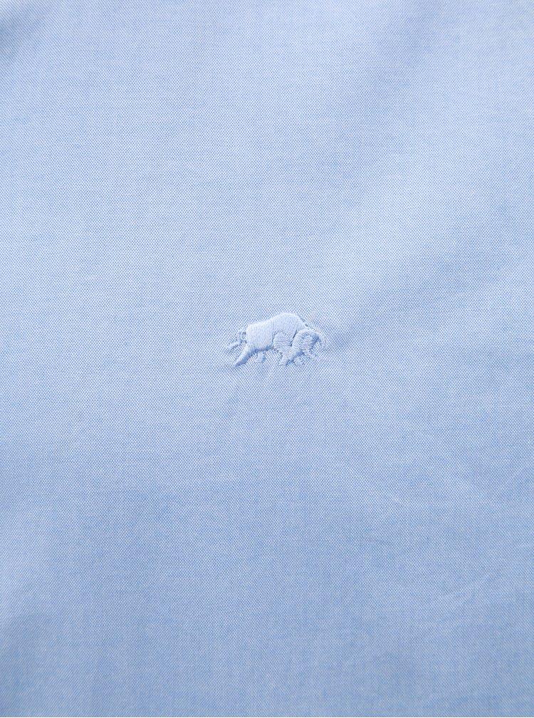 Světle modrá košile s dlouhým rukávem Raging Bull