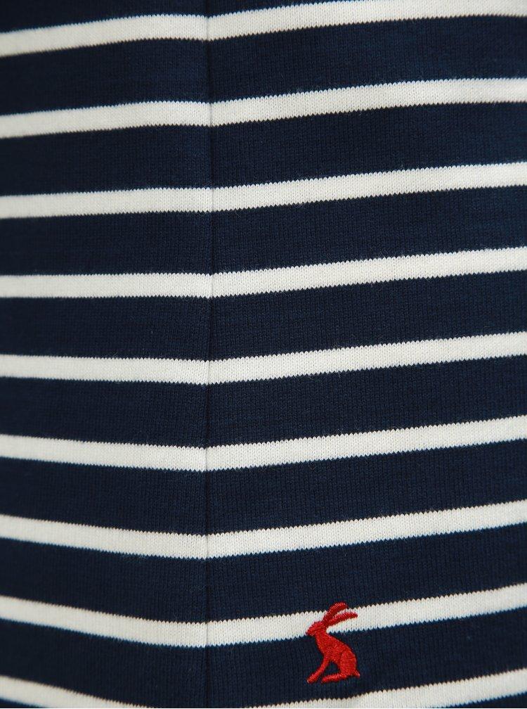 Pulover lejer alb-albastru in dungi de dama Tom Joule