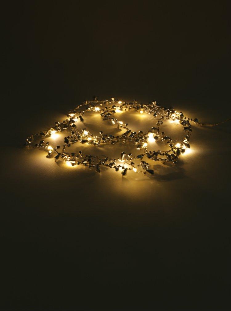 Micro LED světelný řetěz ve stříbrné barvě Kaemingk