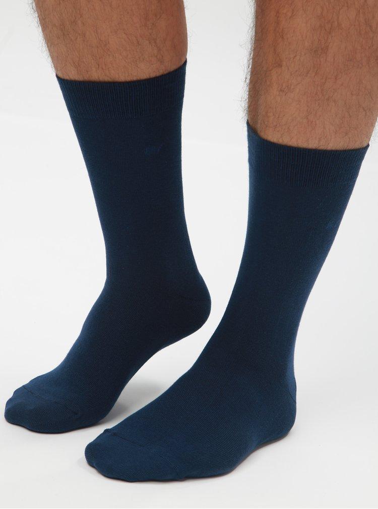 Sada tří párů ponožek v tmavě modré barvě CR7