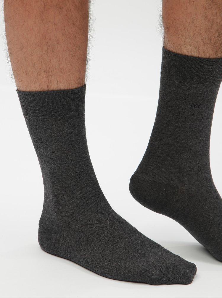 Sada tří párů pánských šedých ponožek CR7
