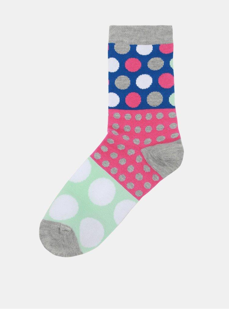 Sada tří puntíkovaných dámských ponožek Oddsocks Ellie