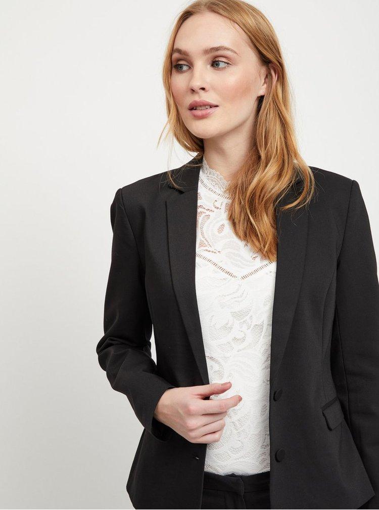 Černé kostýmové sako VILA Delia