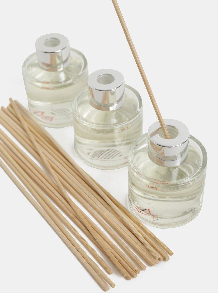 Set de 3 difuzoare cu aroma de mar si scortisoara SIFCON