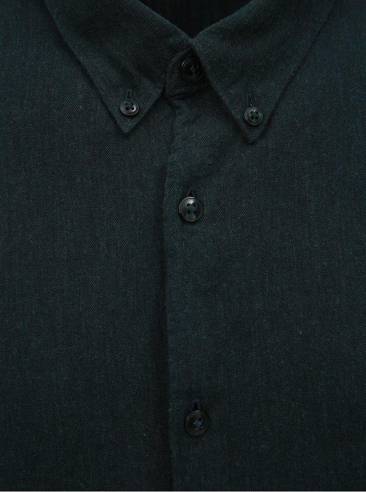 Camasa verde inchis JUNK de LUXE