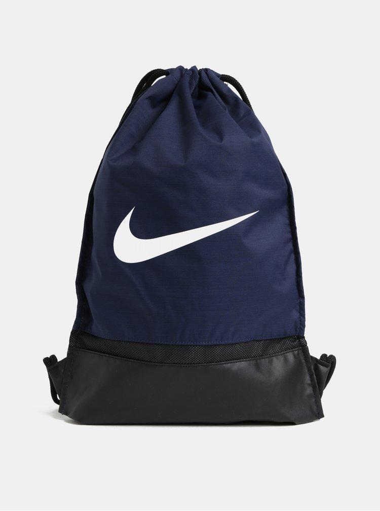 Sac albastru inchis impermeabil cu imprimeu Nike 17 l