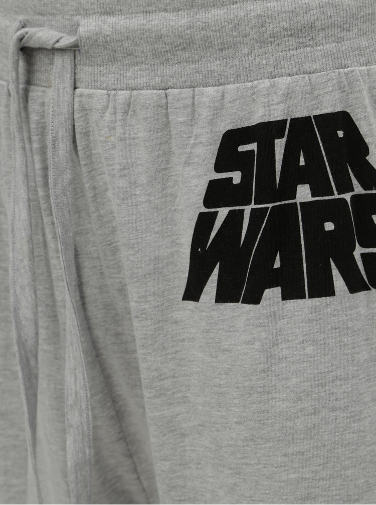 Pijama negru-gri cu motiv Star Wars Burton Menswear London