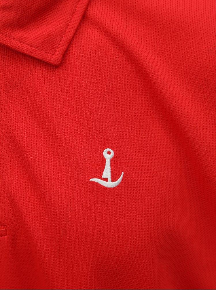 Červené funkční polo tričko Mr. Sailor