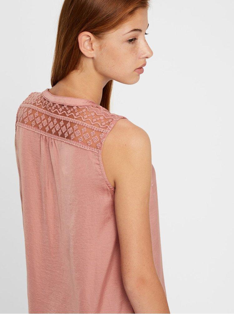 Bluza roz VERO MODA Marella