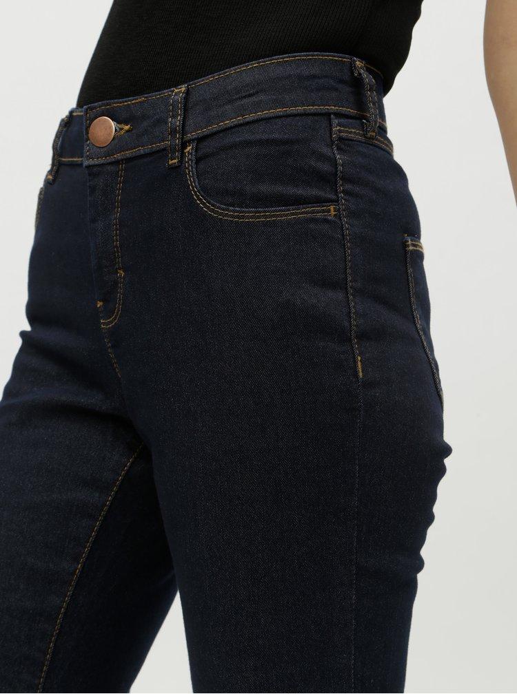 Tmavě modré bootcut džíny Dorothy Perkins