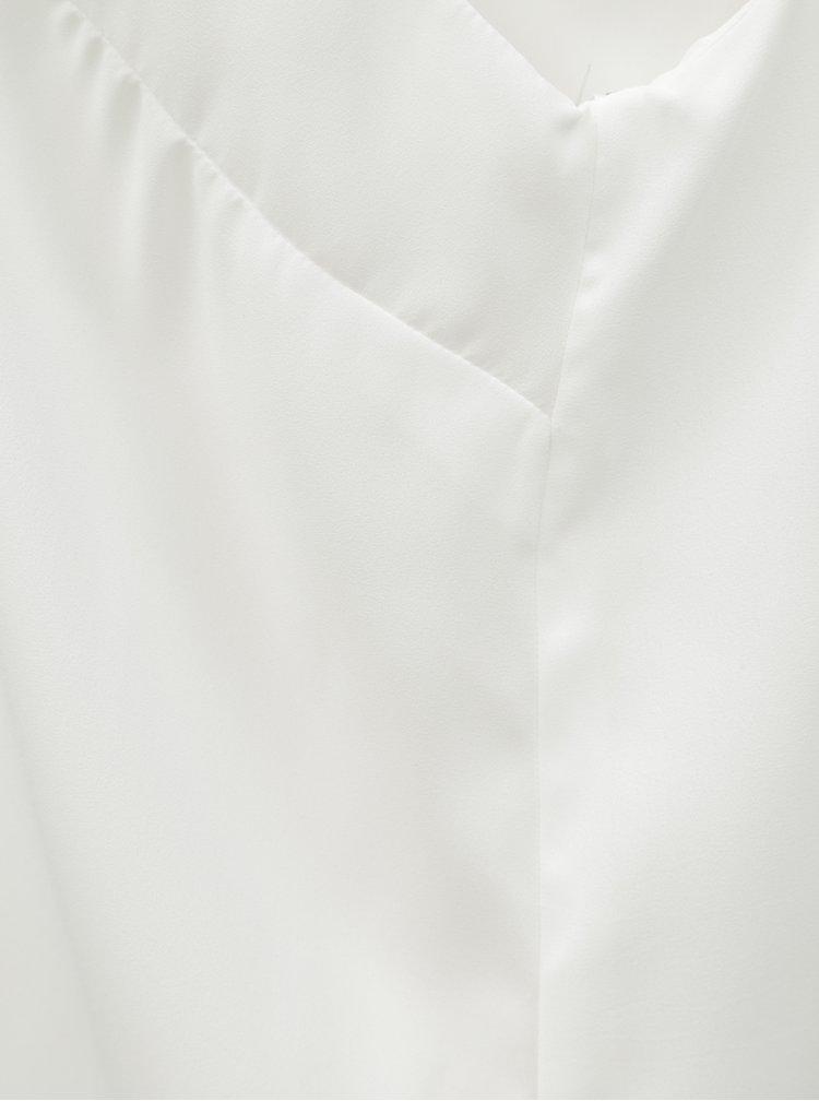 Top alb cu detalii stralucitoare Dorothy Perkins