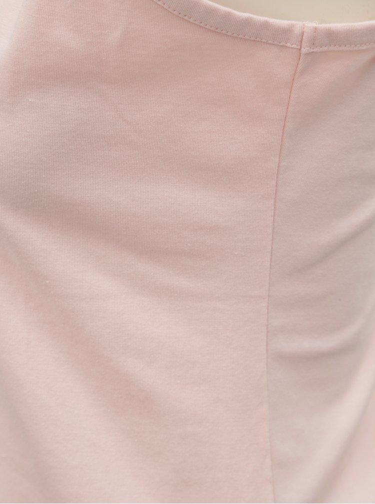 Šedo-růžové dvoudílné pyžamo s motivem králíků Dorothy Perkins