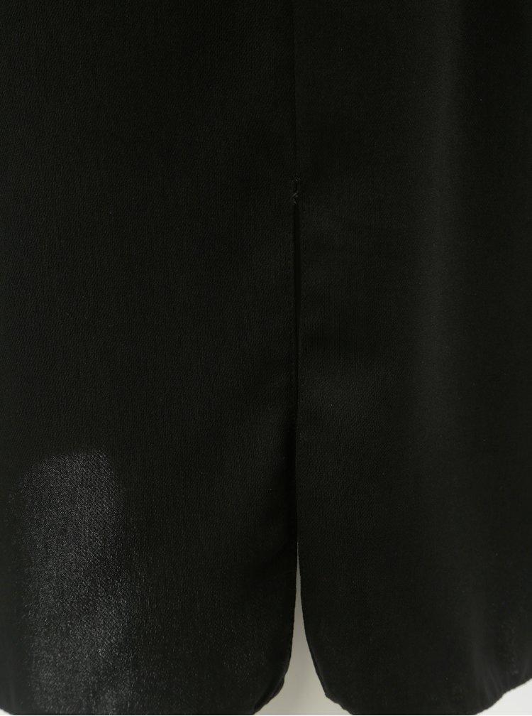 Fusta neagra cu nasturi decorativi Dorothy Perkins