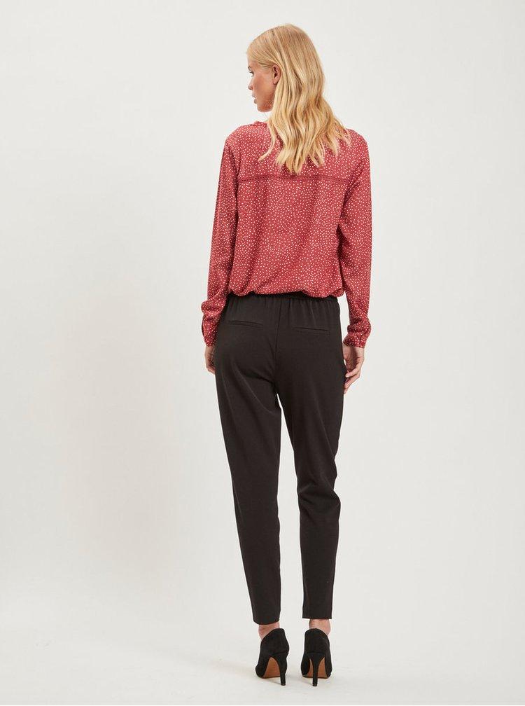 Čierne nohavice s vreckami VILA Rena